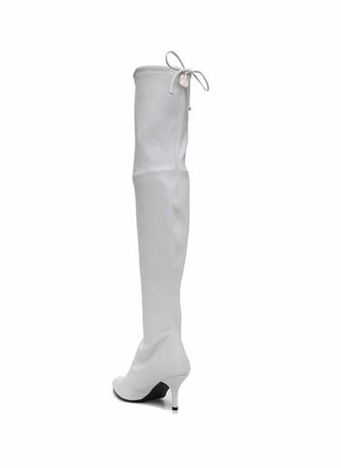 Stuart Weitzman Çizme Beyaz